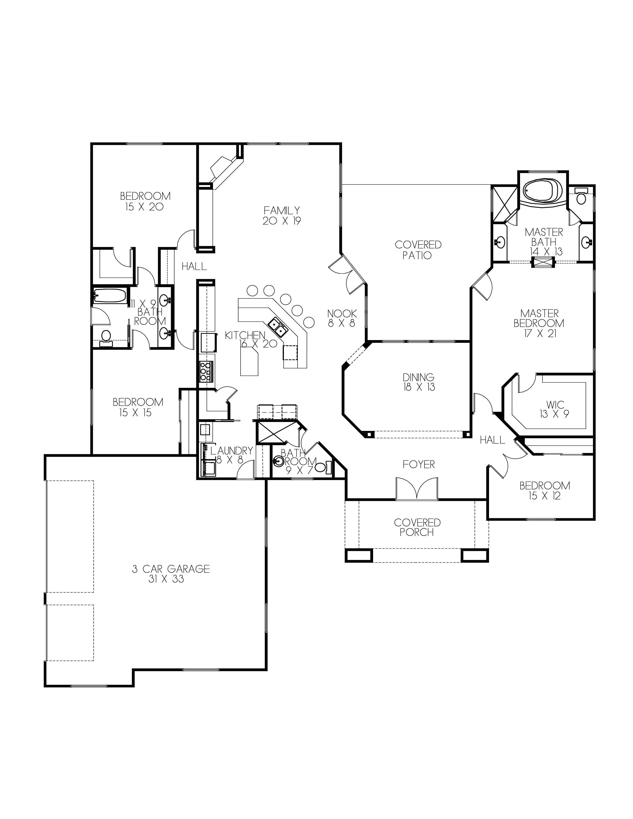 P43 2982 for Ready to build house plans